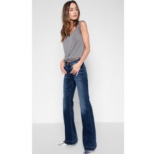 7 For All Mankind Dojo Jeans W/ Swarovski Crystals